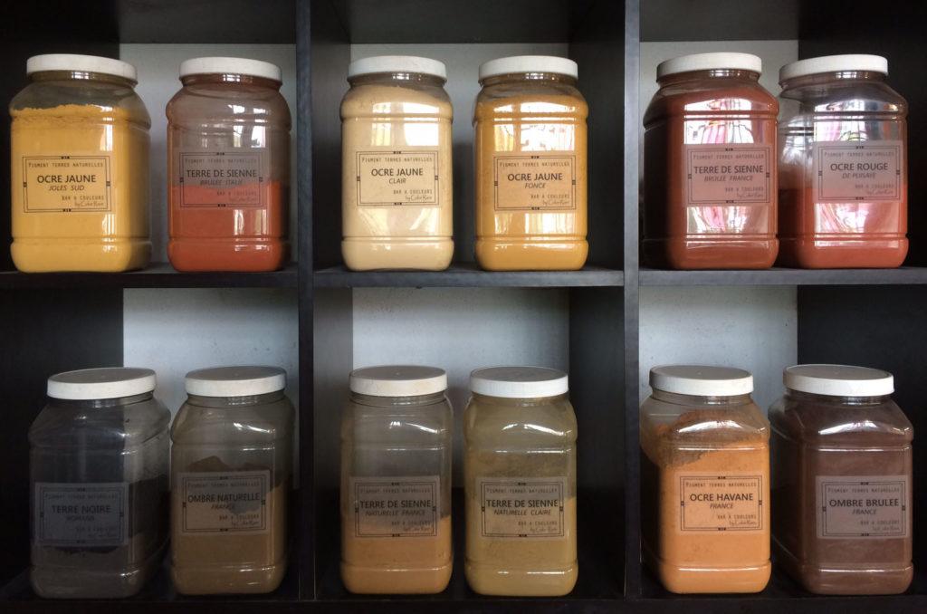 pigments pour badigeon chaux