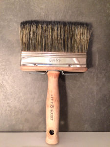 brosse a badigeon de chaux
