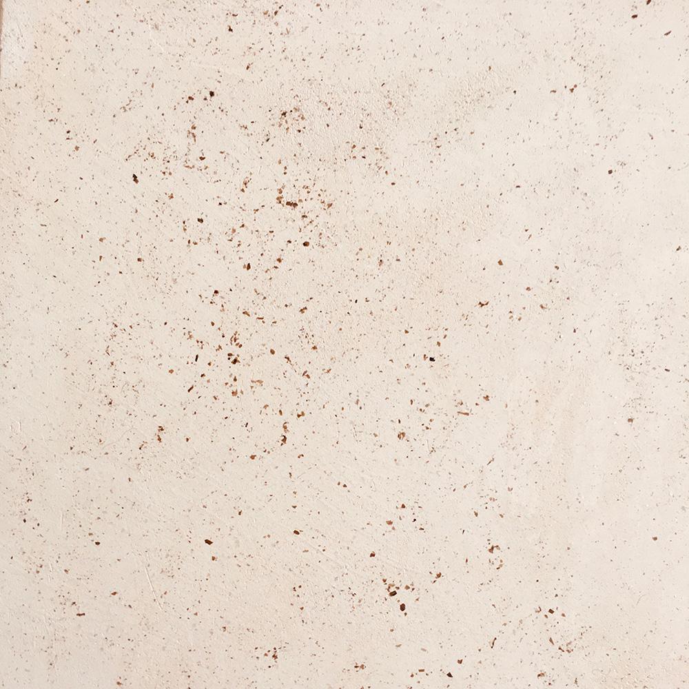 Enduit décoratif Stuc mat beige et mica noir