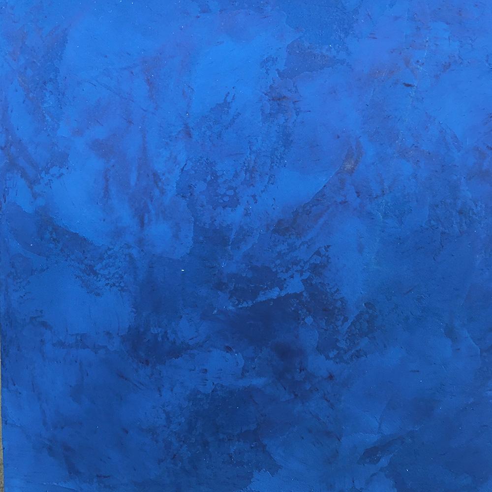 Enduit décoratif Stuc mat bleu nuit